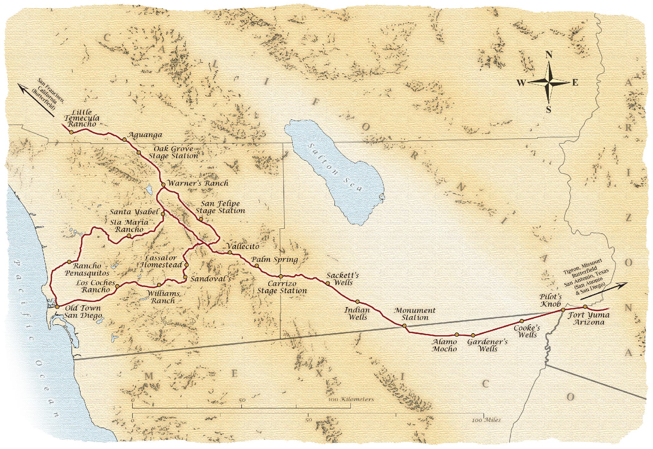 The Acorn Group - Anza-Borrego - Emigrant Trail