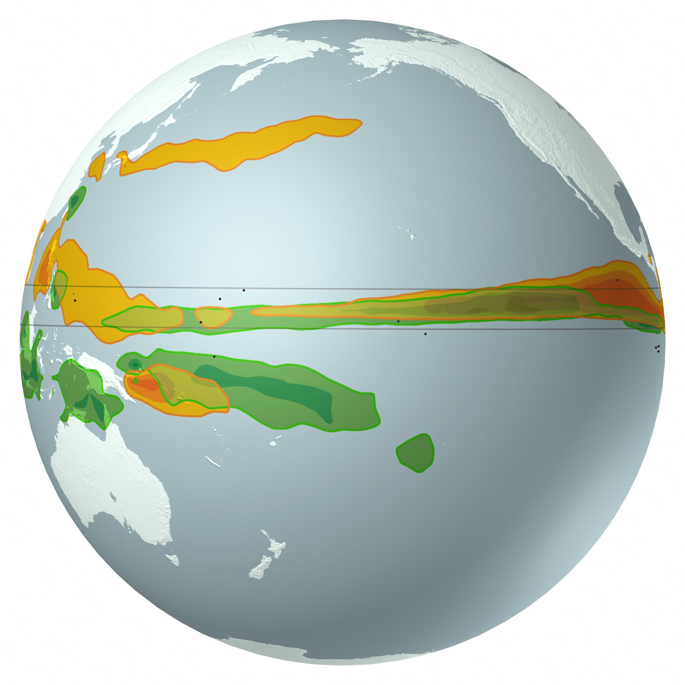 Scientific American - Rainfall globes