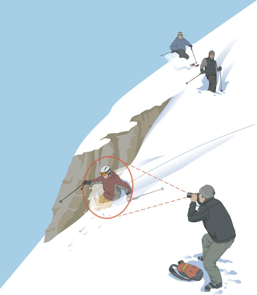 Skiing Magazine - Powder Shot