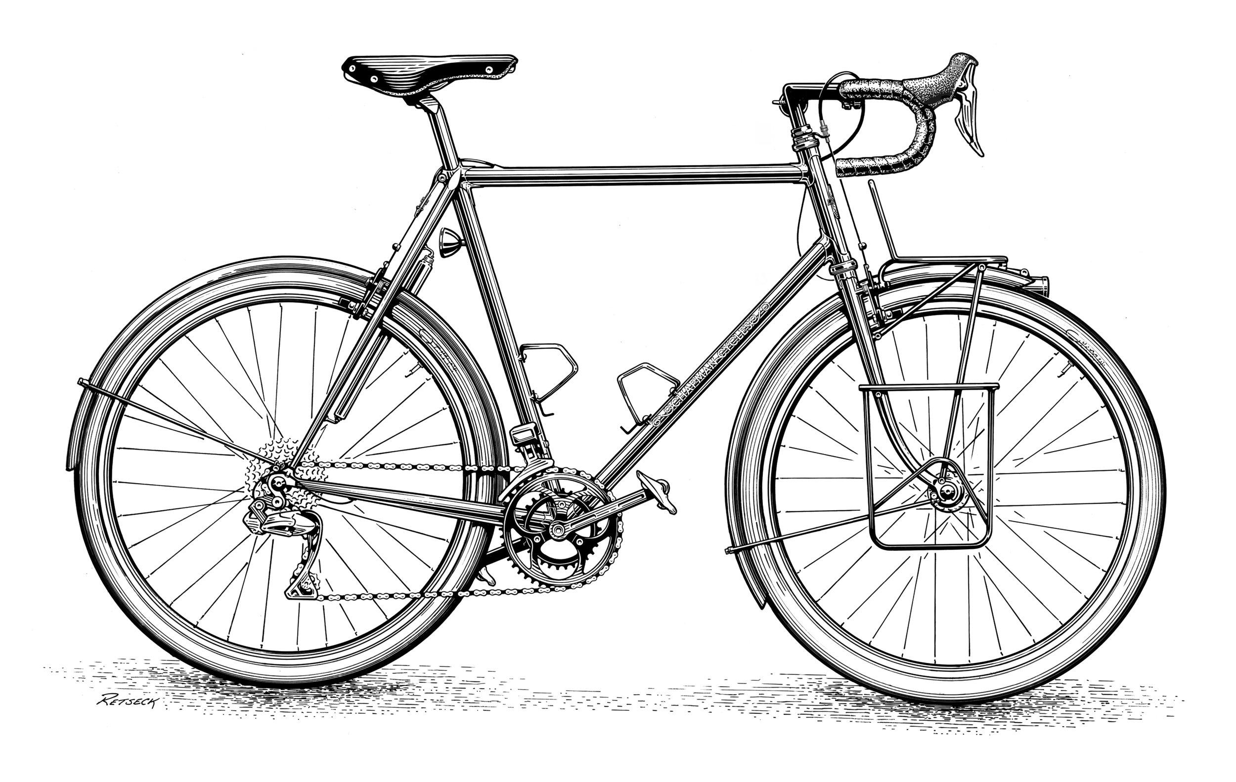 Chapman Cycles - Di2 Randonneur