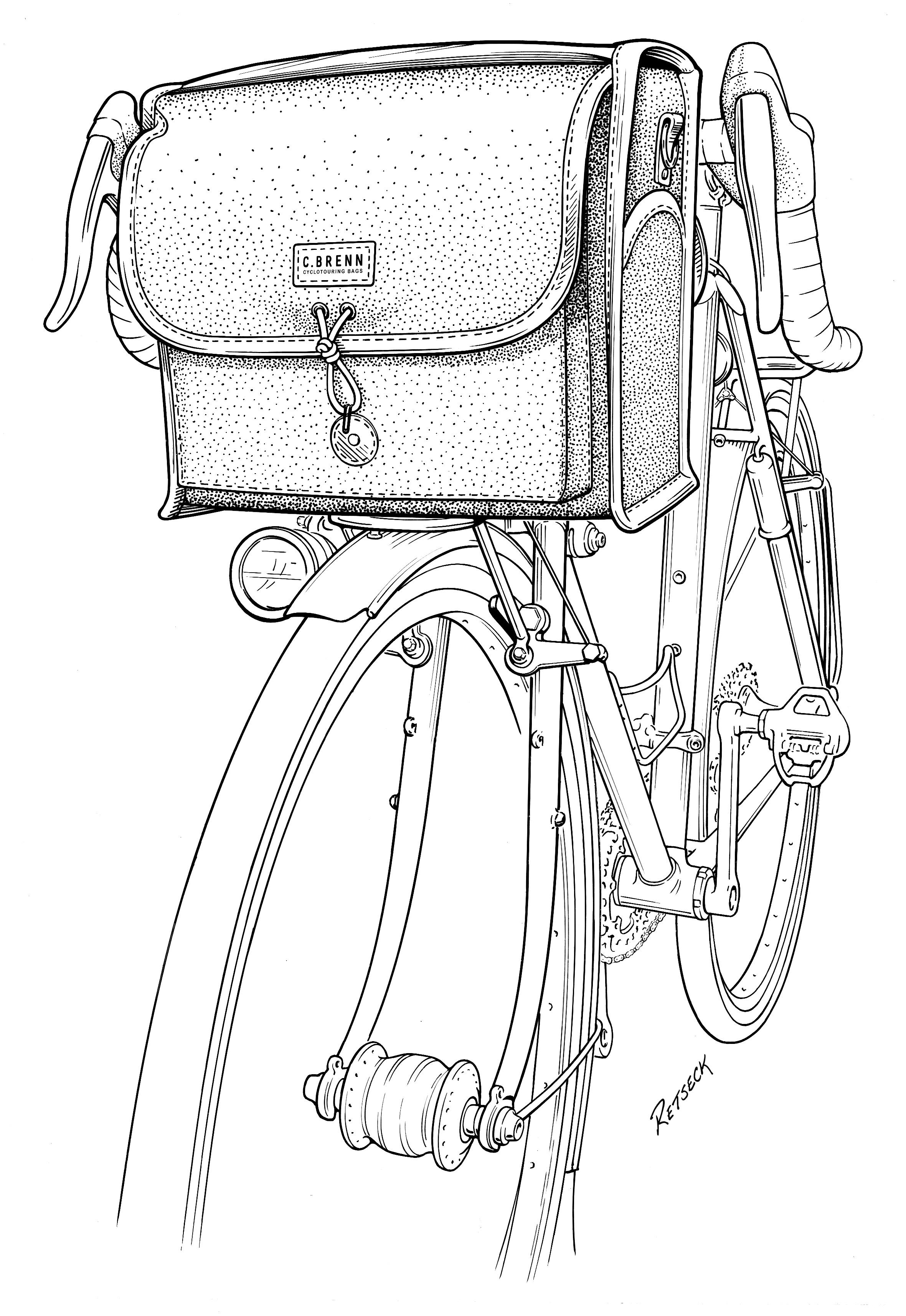 C. Brenn Cyclotouring Bags