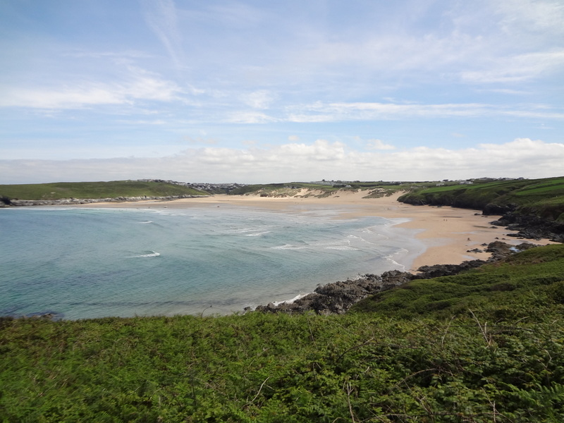 Another cool view of Crantock.