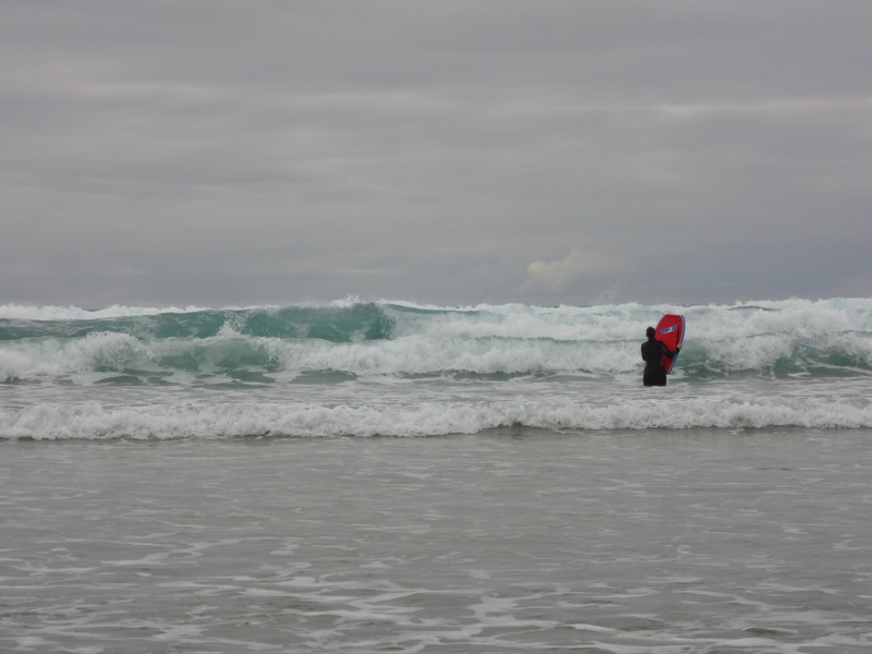 I'm so glad the waves look scary here, they were pretty tame in real-life!!