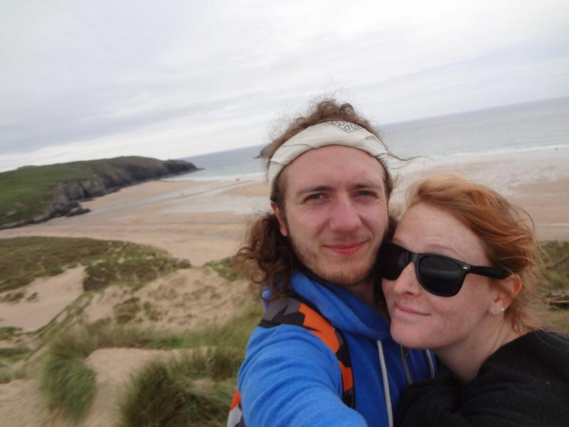Holywell Well beach couples photooo.