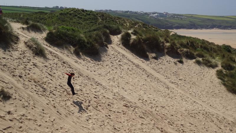 Taran dune jumpin'.