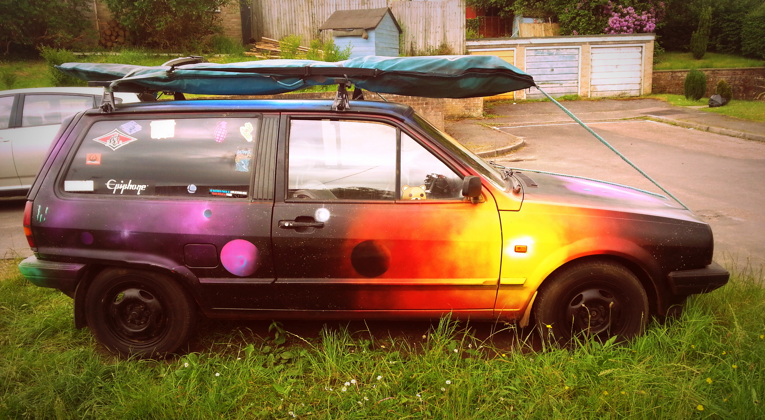 My cosmic car