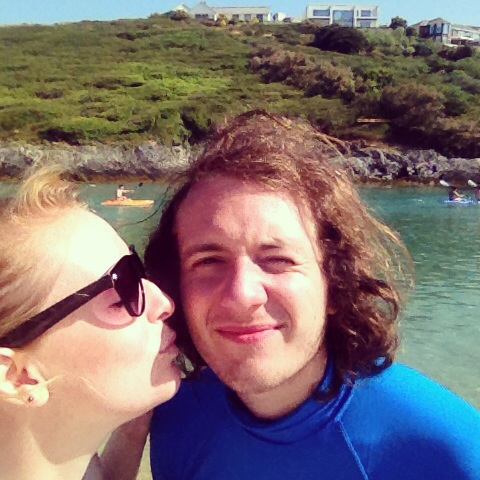 Loving life in the summer of 2013 in Cornwall!