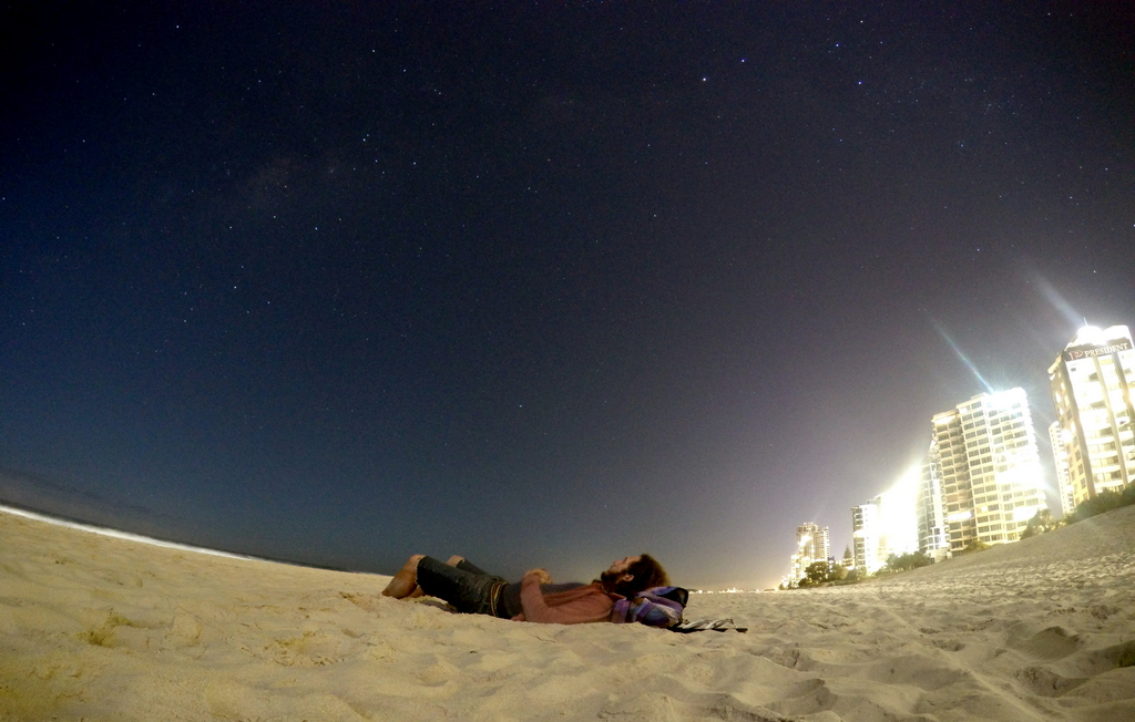 Midnight - Surfers Paradise, Australia
