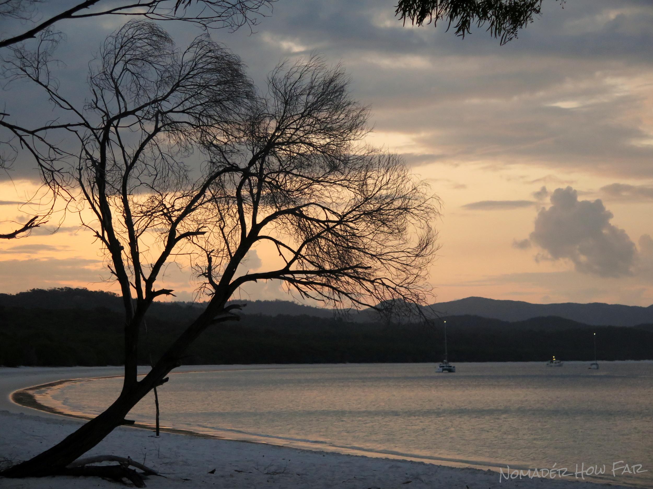 whitehaven sunset beautiful