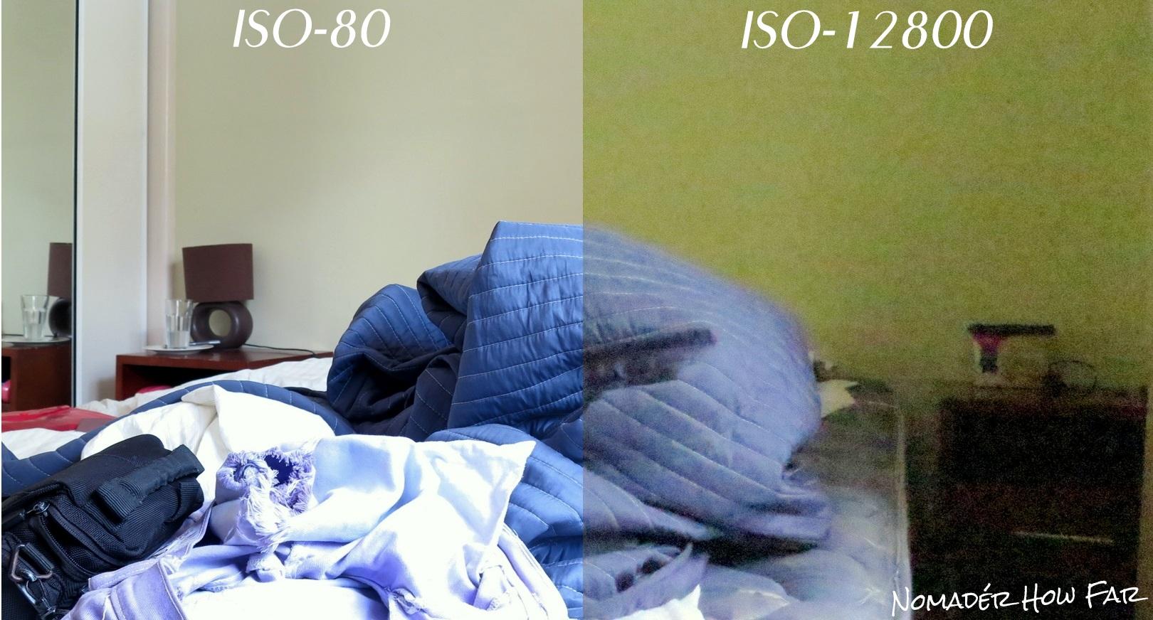 ISO Value Comparison