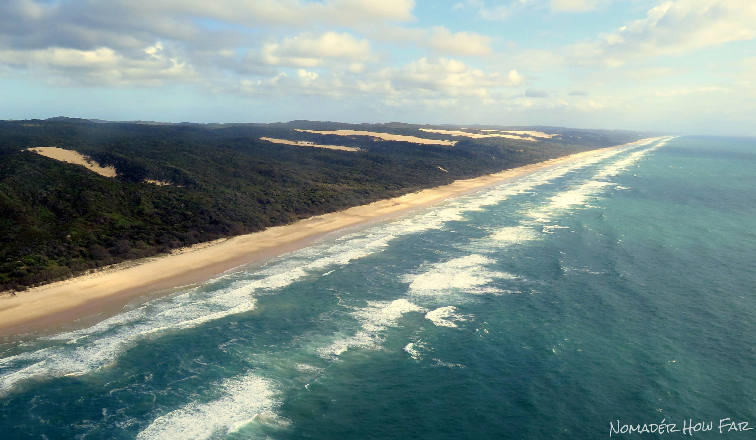 75 Mile Beach - Fraser Island, Australia