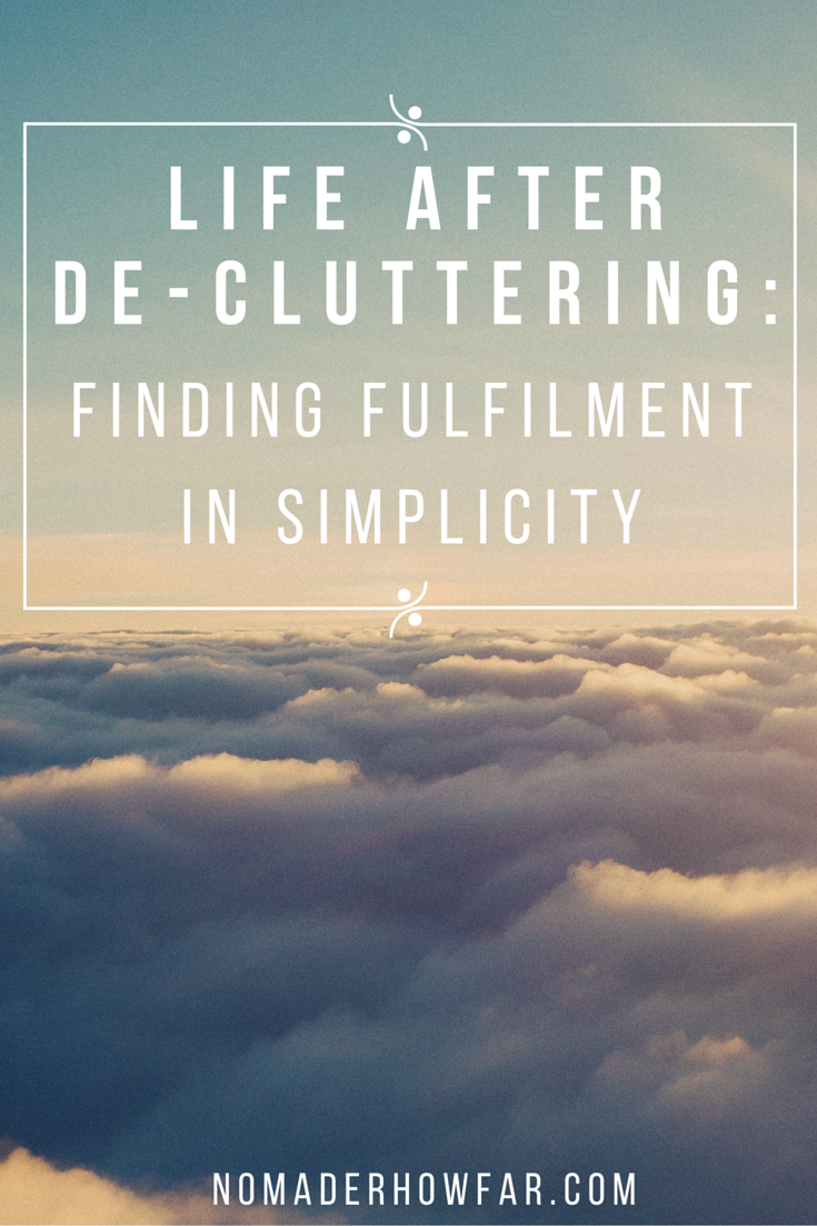 The 4 area's of importance for life after de-cluttering relate to being accountable for our daily choices to remain clutter-free, creating more fruitful and balanced schedules, building healthier passions and interests, and developing routines which help change our bad habits.