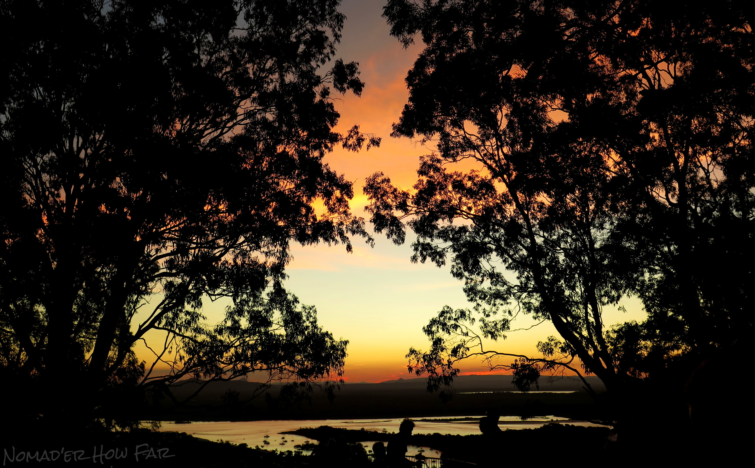 Laguna Lookout Sunset, Noosa - Australia