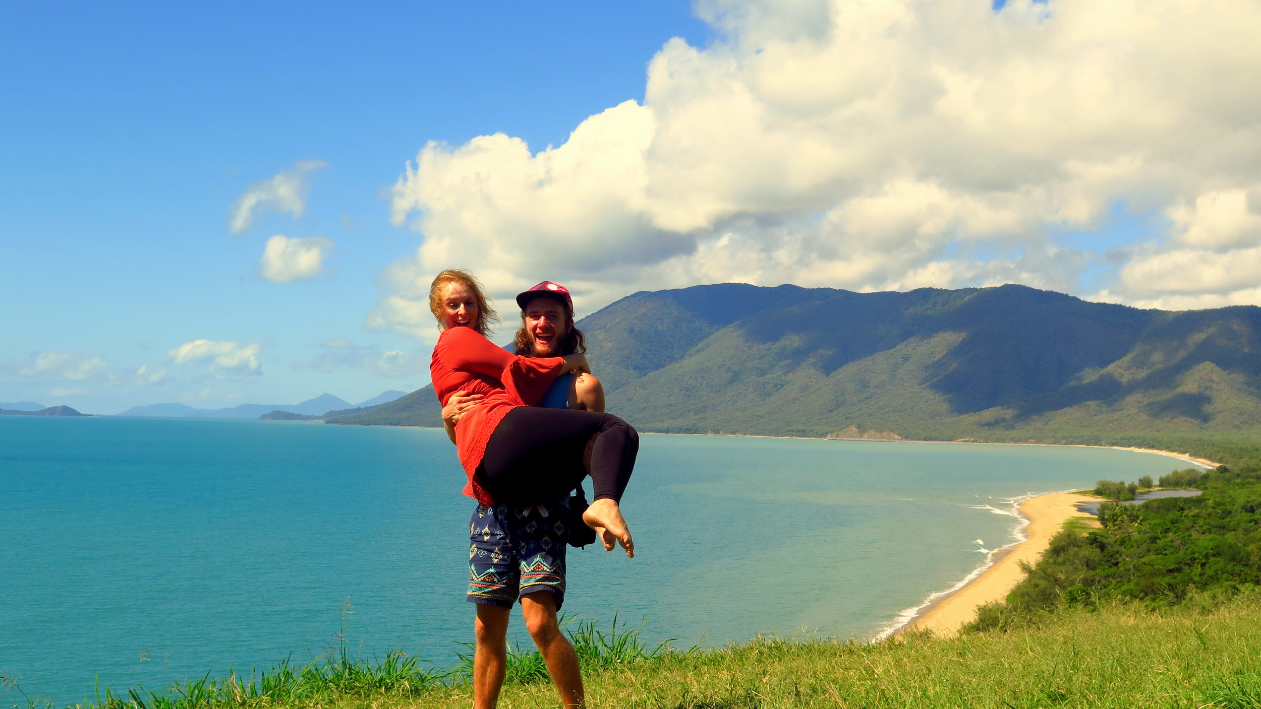 Stopping off to check out the view on the way to Port Douglas!