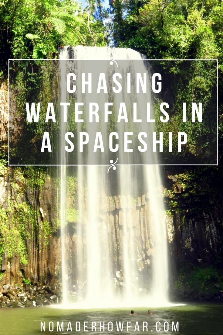 Waterfalls roadtrip northern queensland