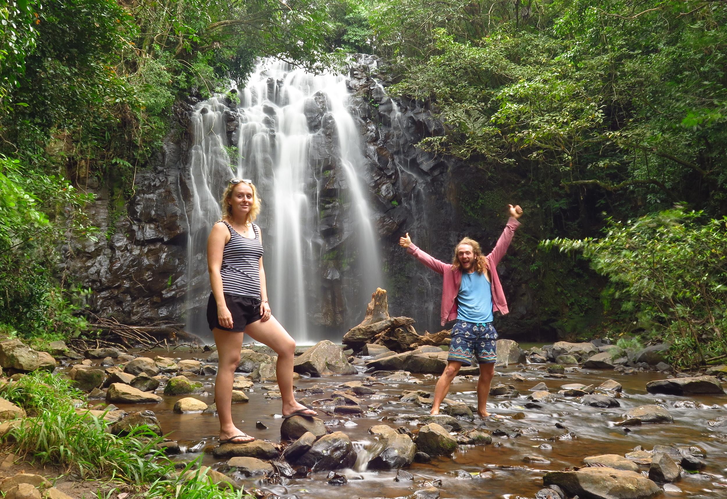 waterfall cairns