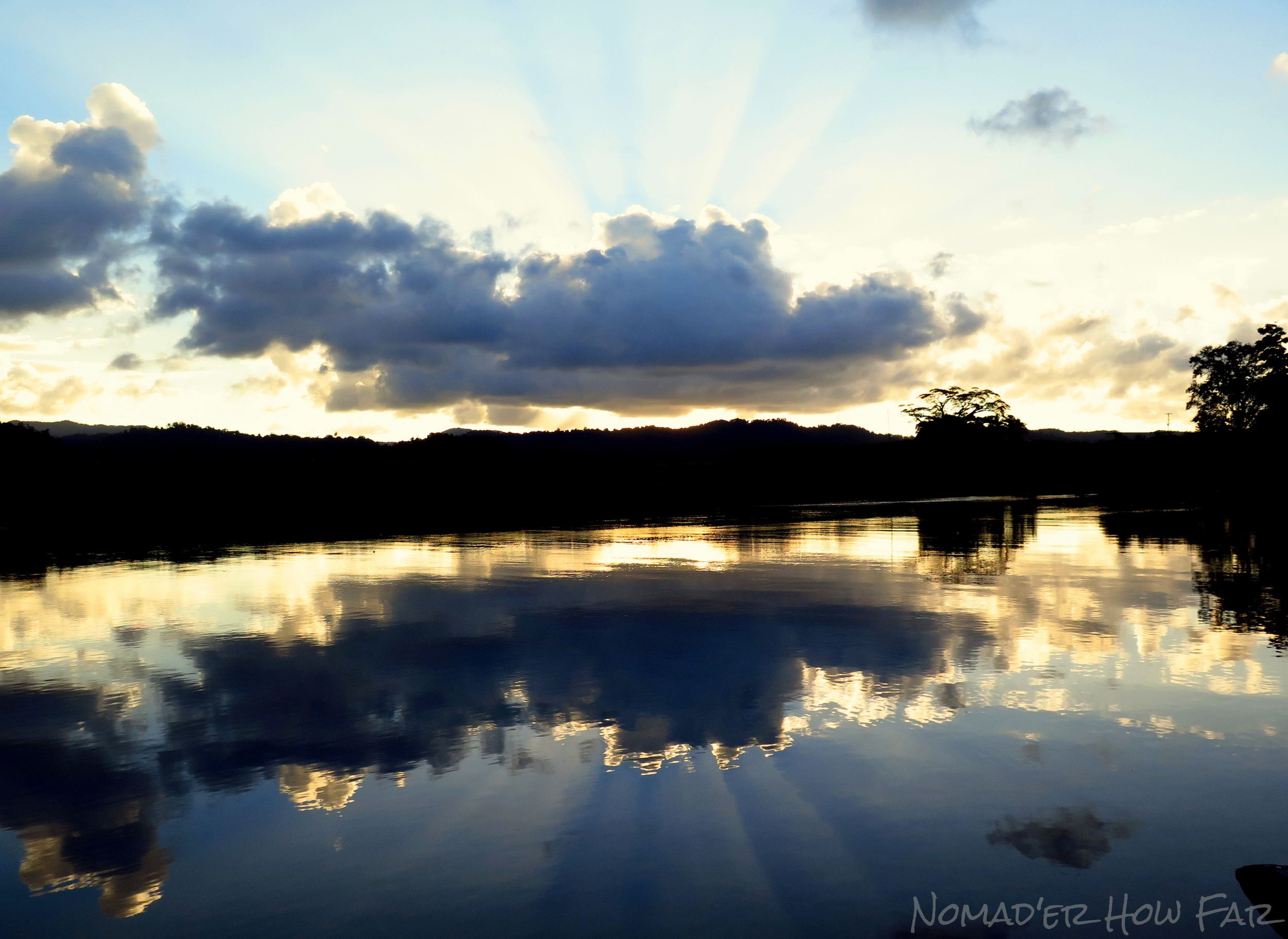 An awesome Daintree sunset!