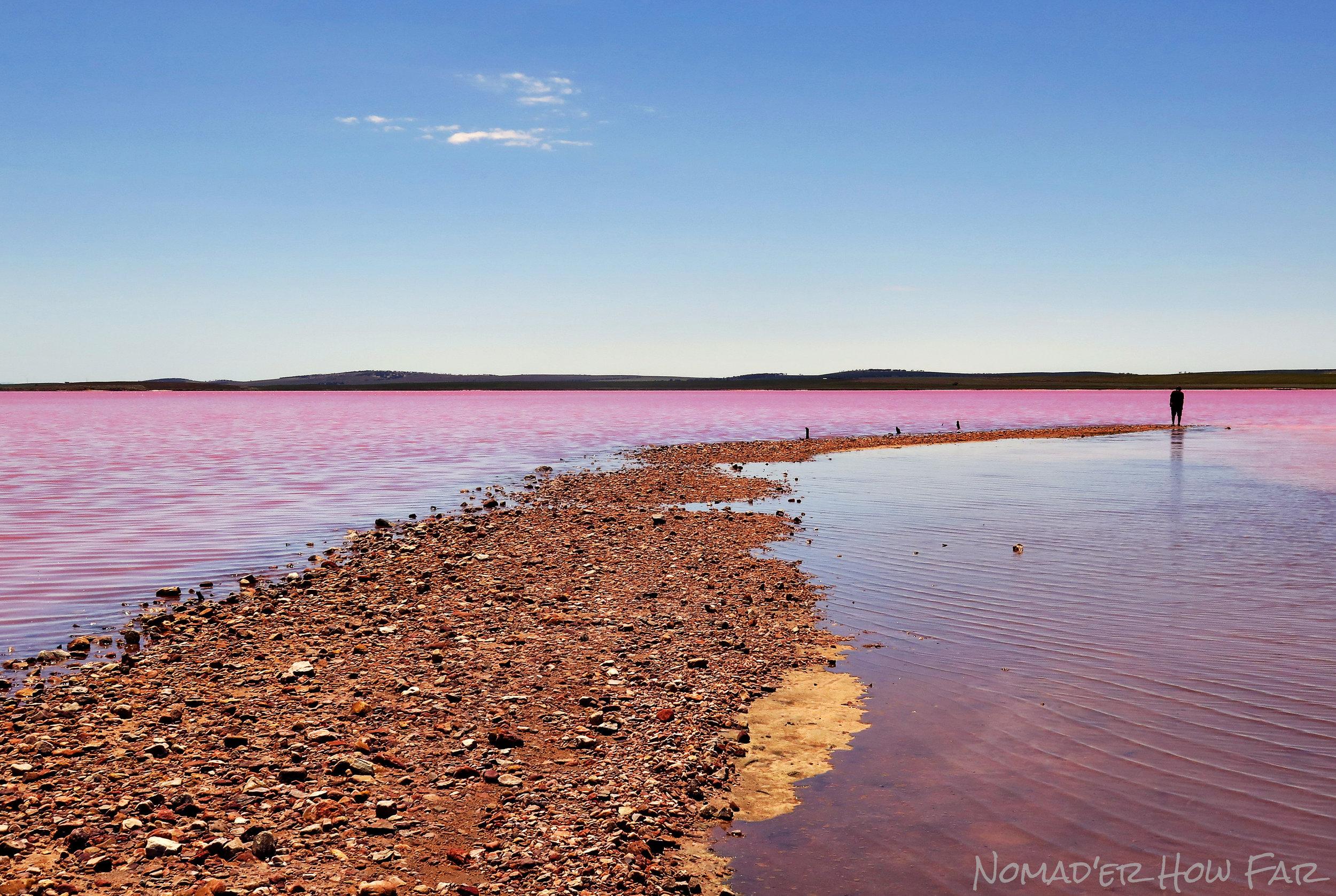 Pink Salt Lake, Australia