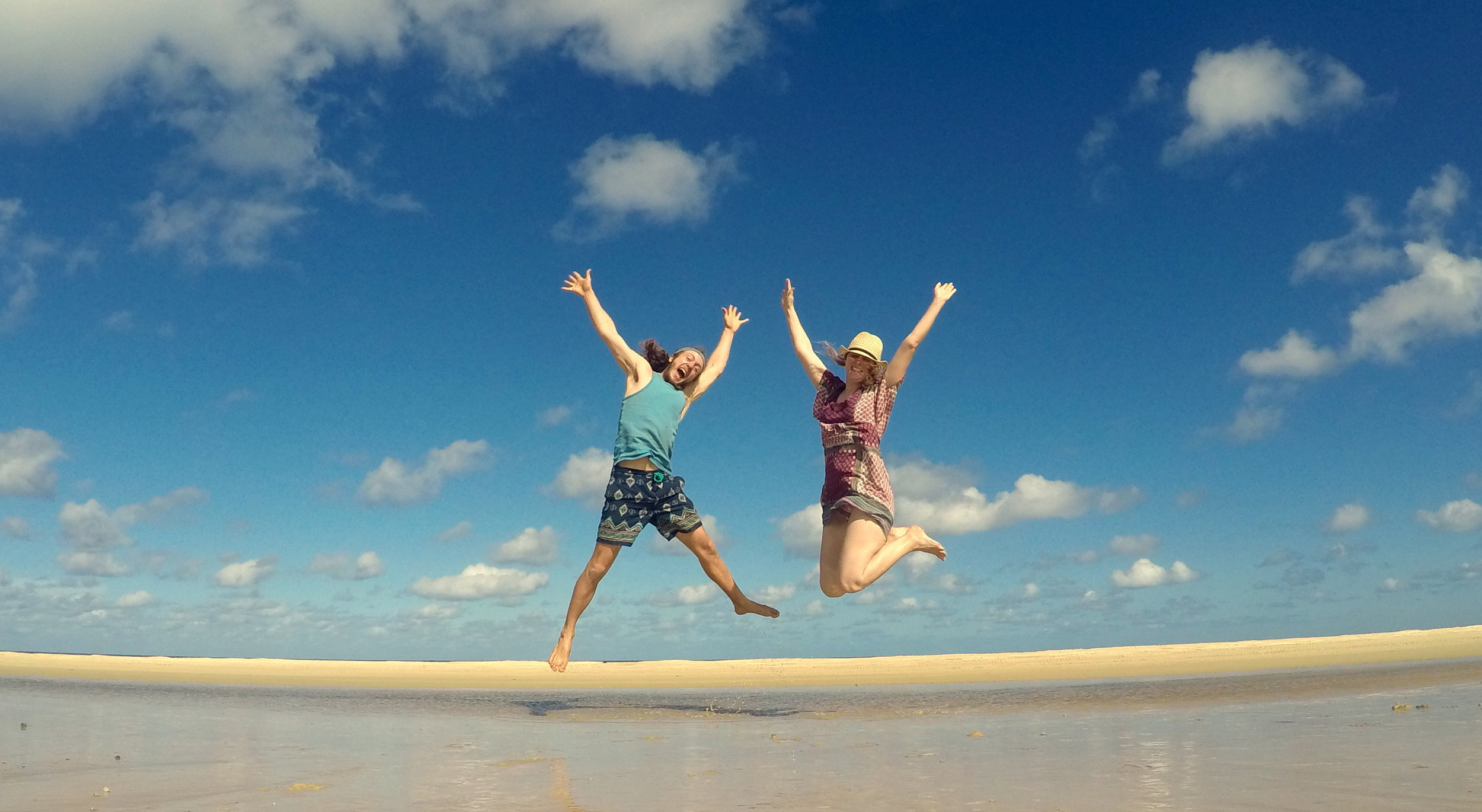 fraser island jump