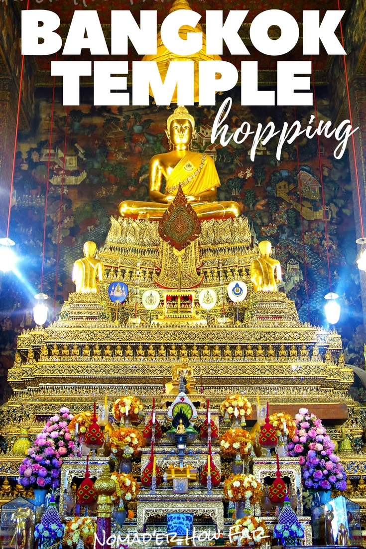 No visit to Bangkok would be complete without a few temple visits, check out a sneak peek of whats on offer here..