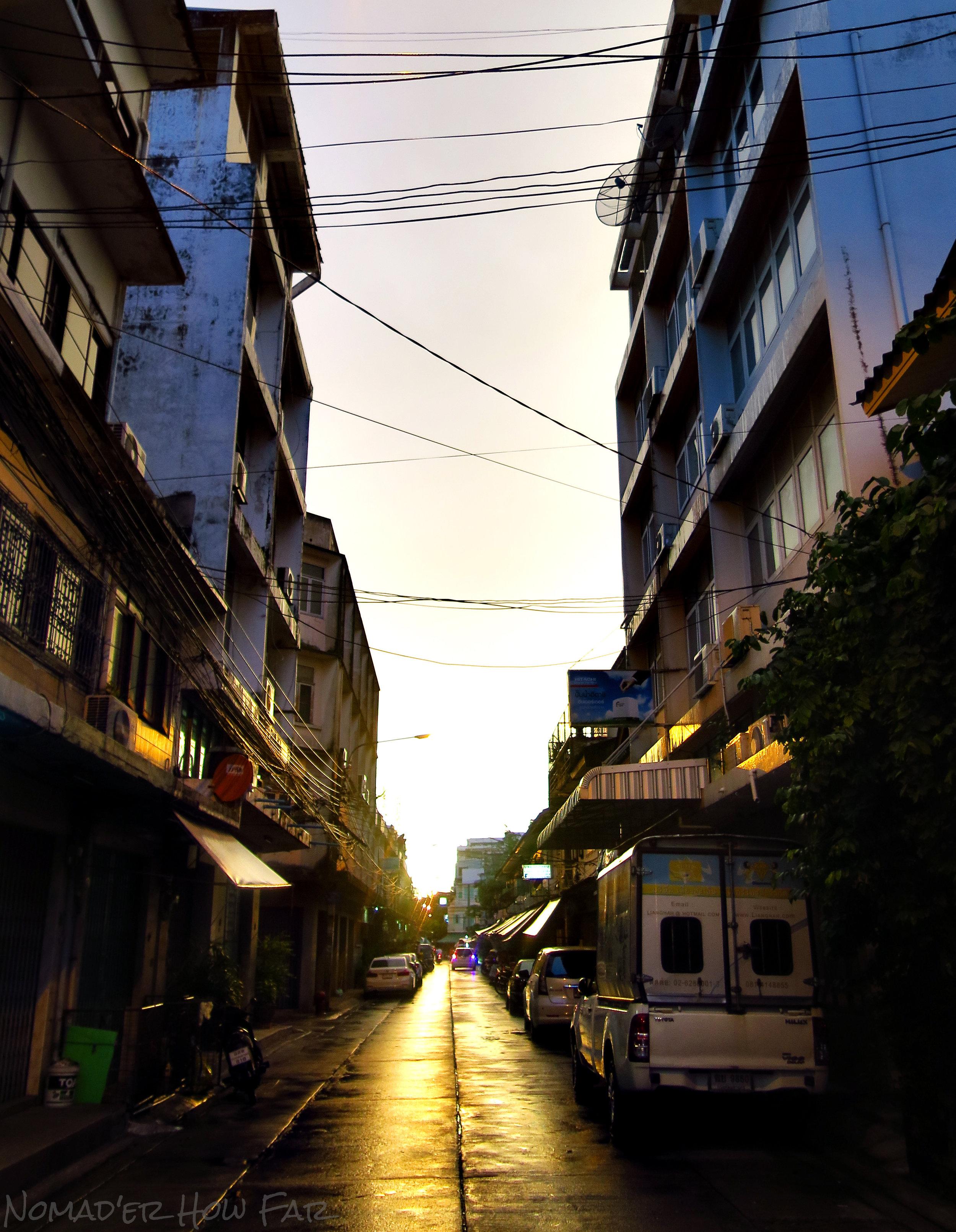 Sun Soaked Alleys - Bangkok, Thailand