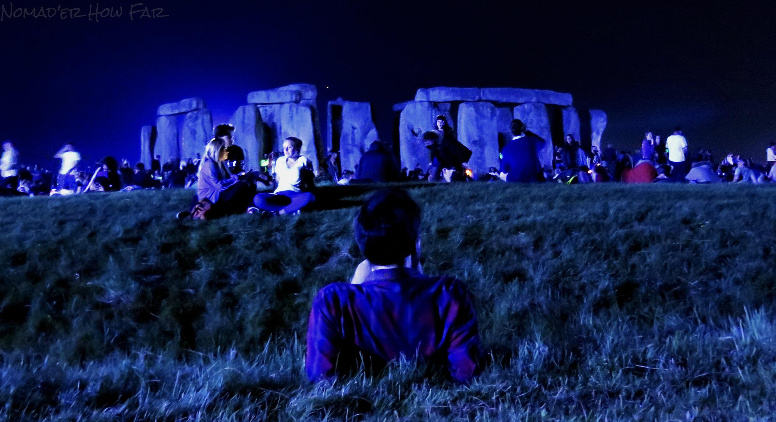 stone henge night