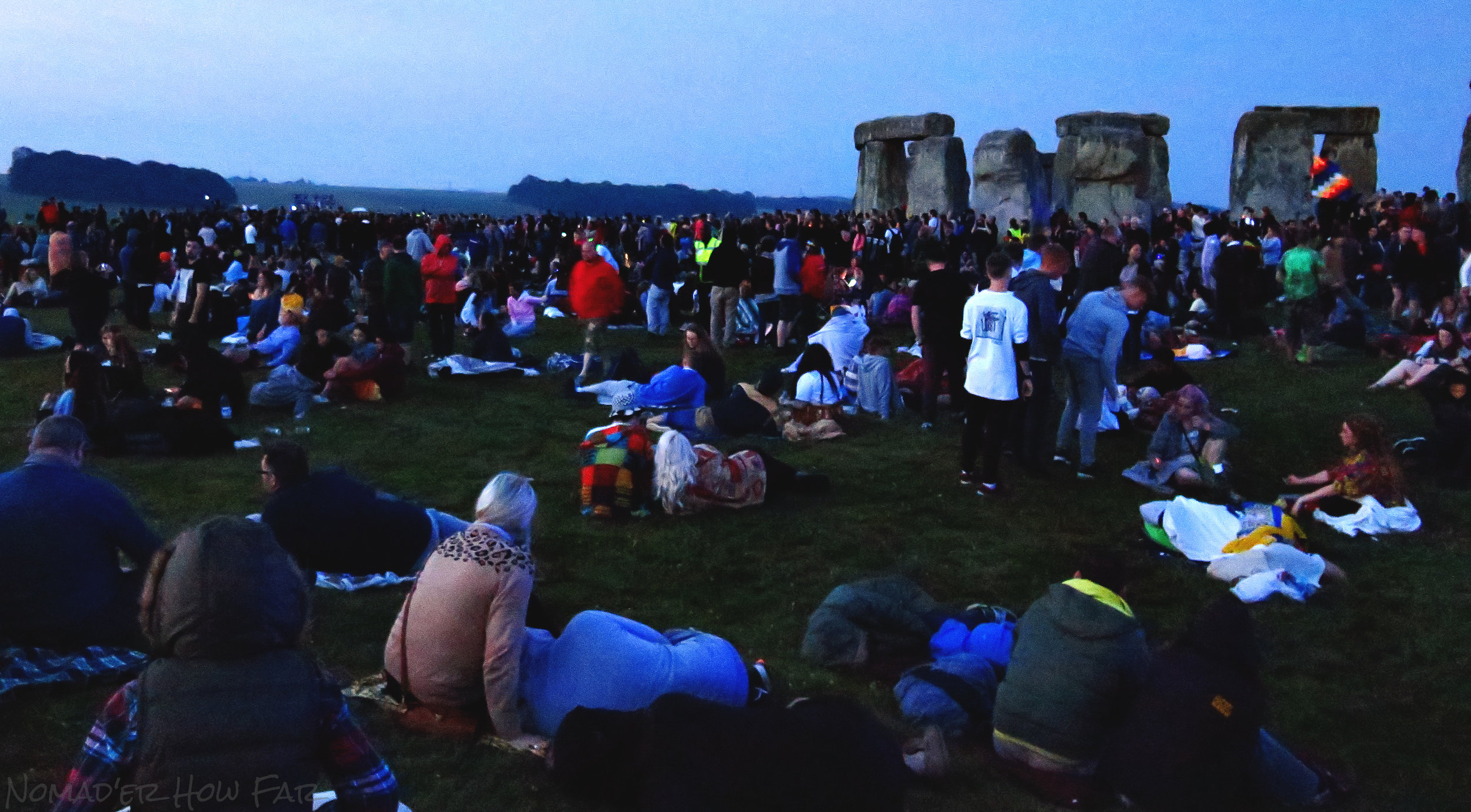crowd at summer solstice