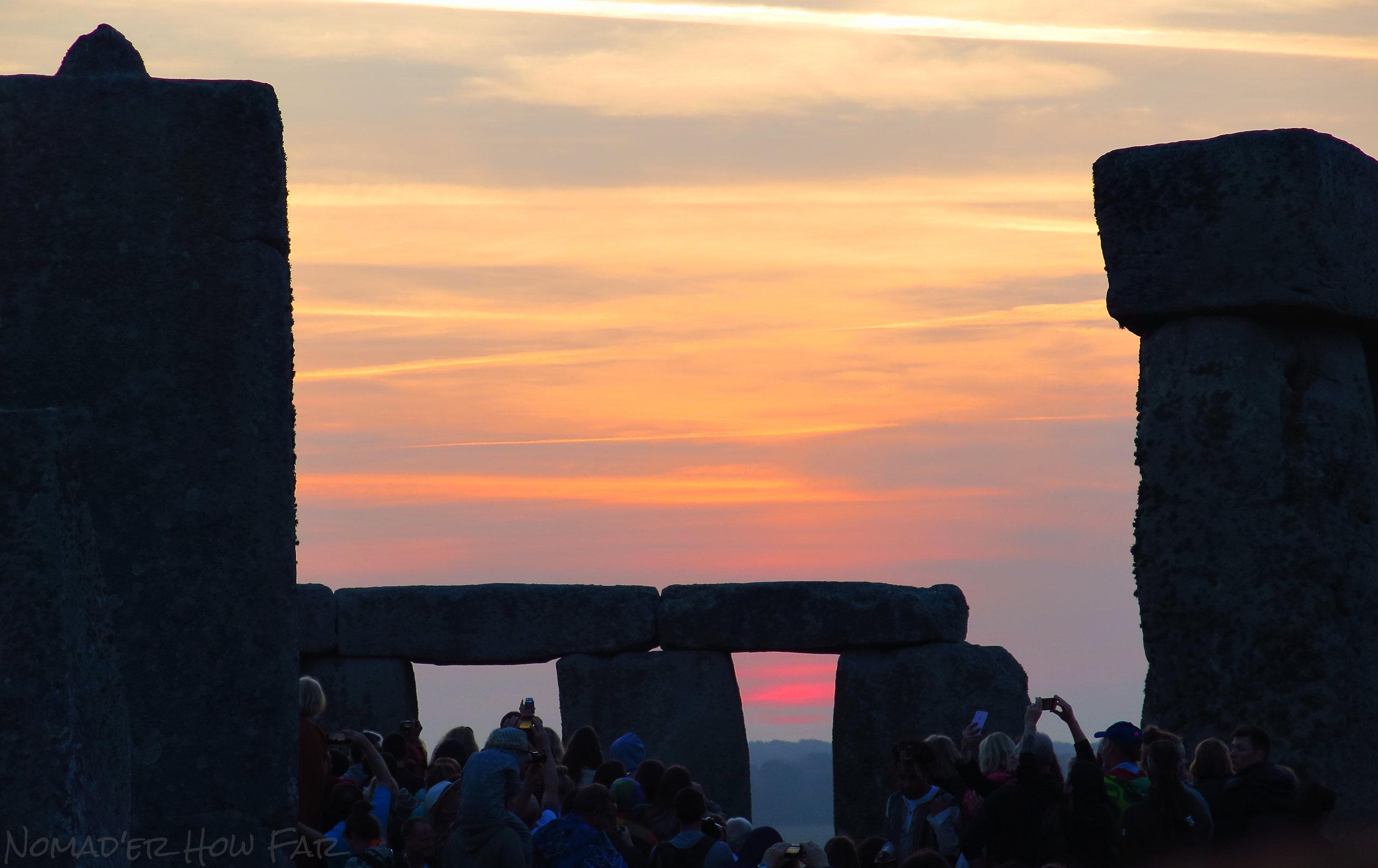 stone henge sunrise