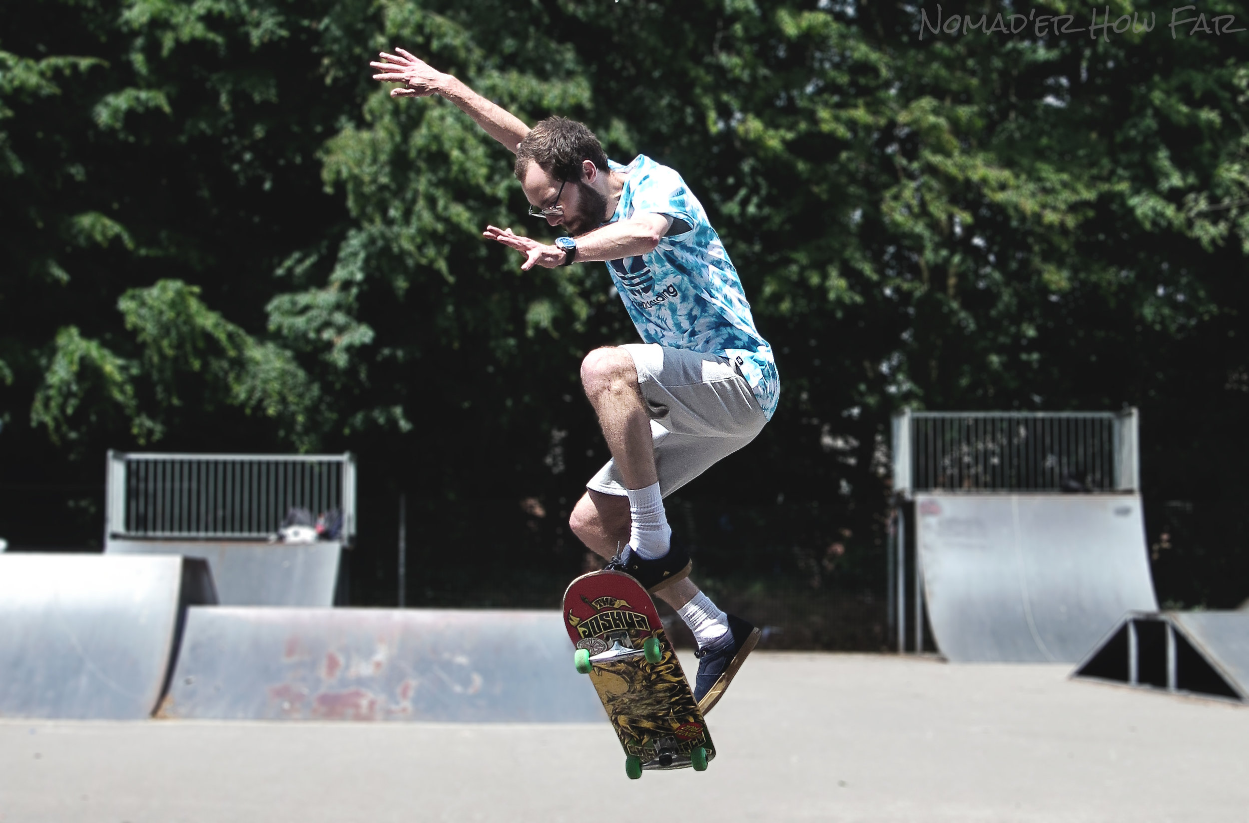 Gettin' some air! - Hythe, UK
