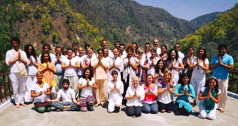 Getting certified in yoga and meditation from Phool Chatti Ashram, Rishikesh, India