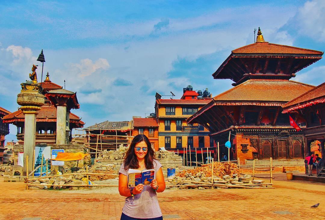 Exploring the local culture, Backtapur, Nepal