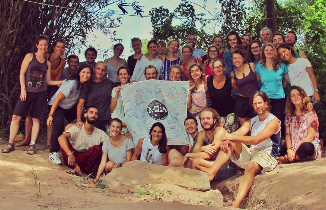 Saying farewell to The Mindfulness Project community, Khon Kaen, Thailand