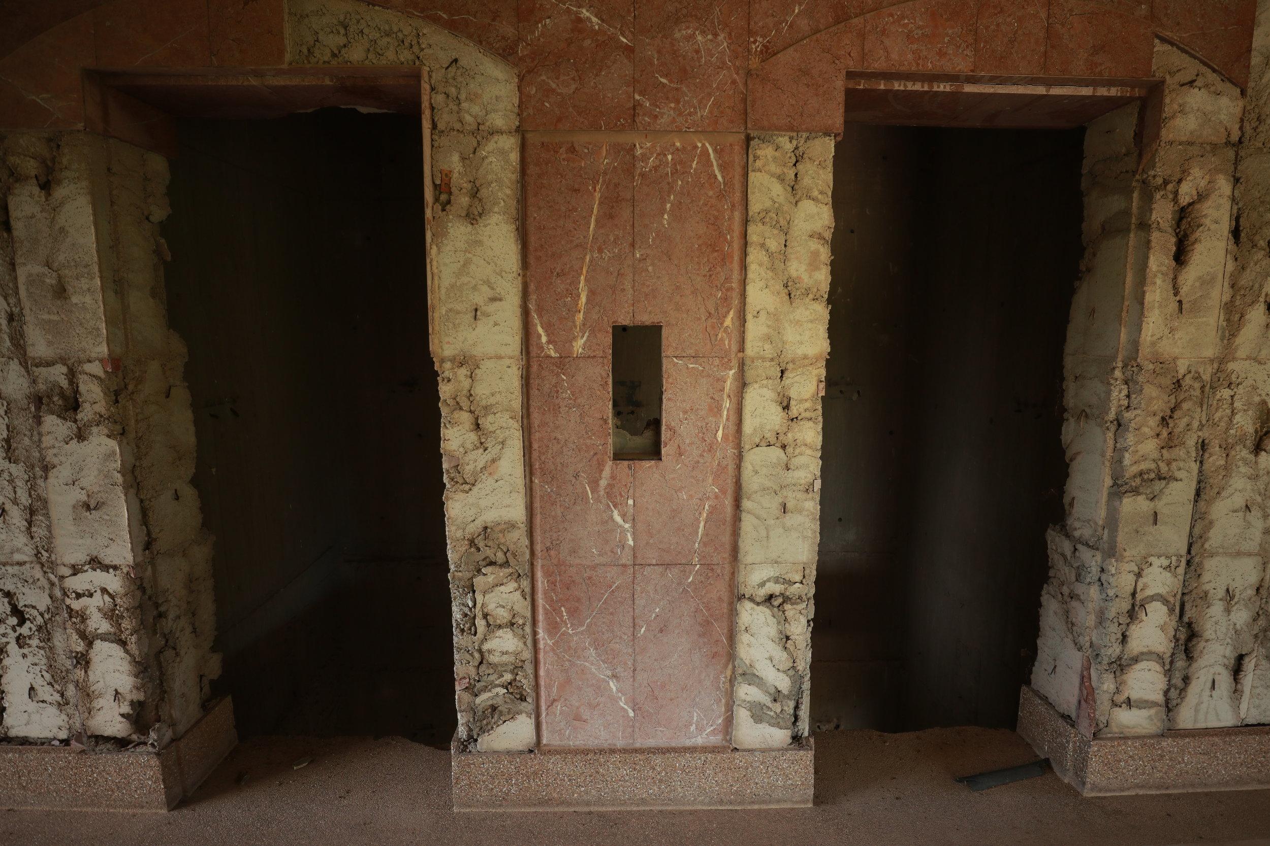 abandoned elevator