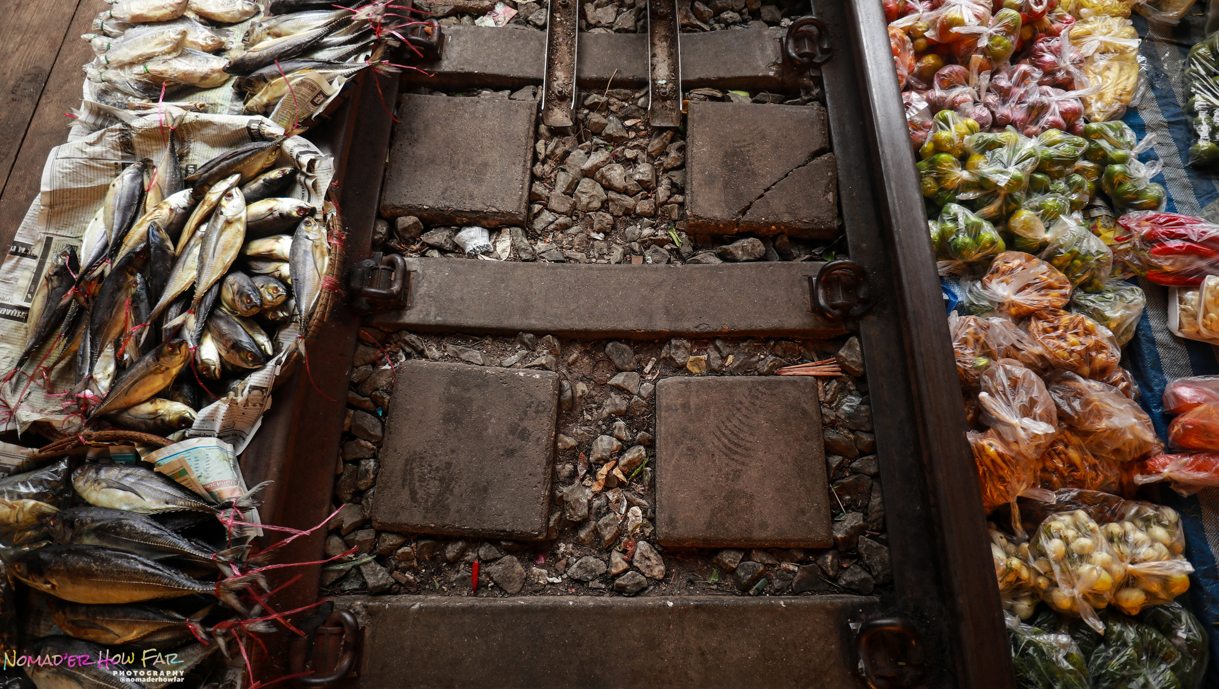 Maeklong railway market // Thailand