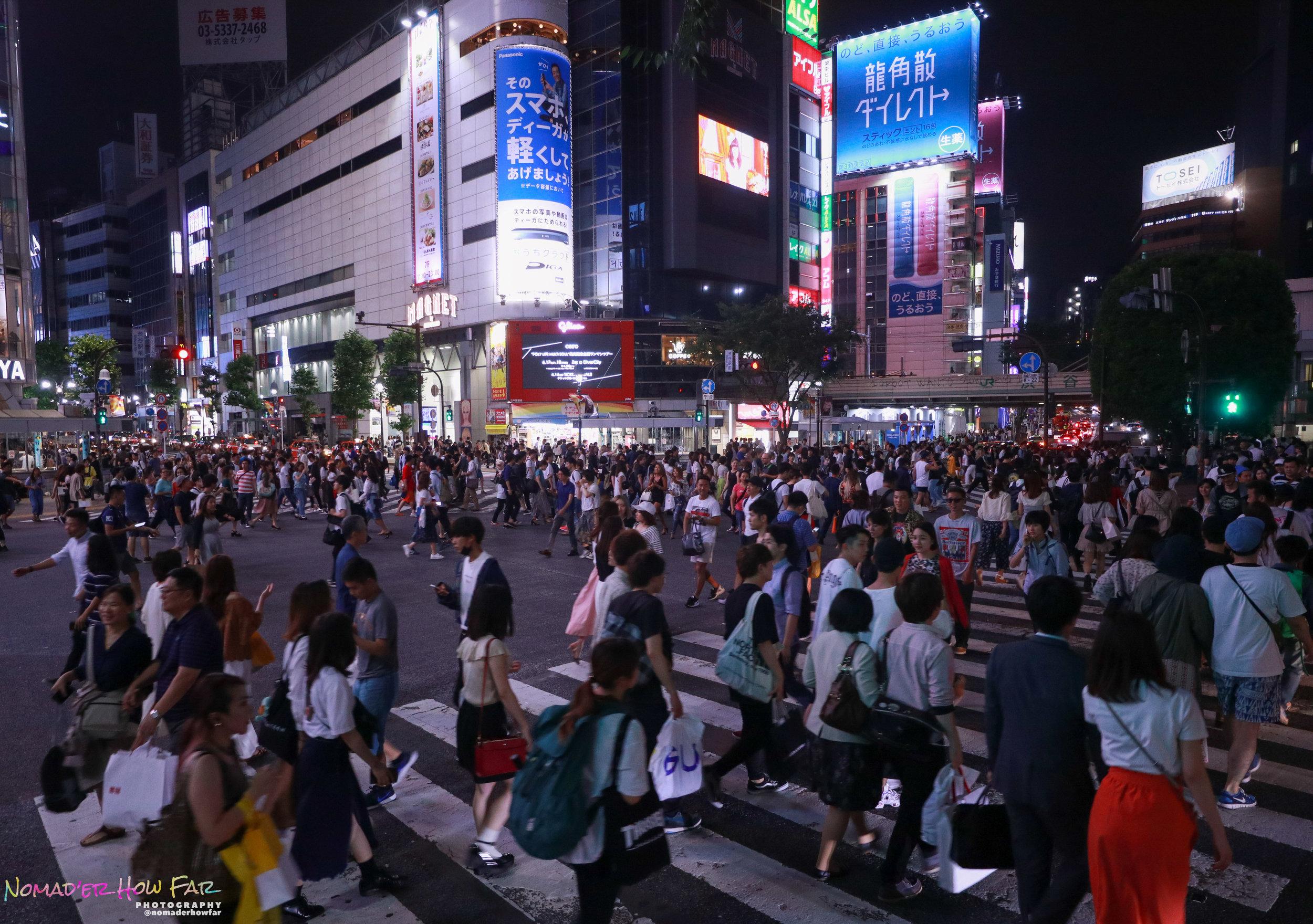 tokyo busy street