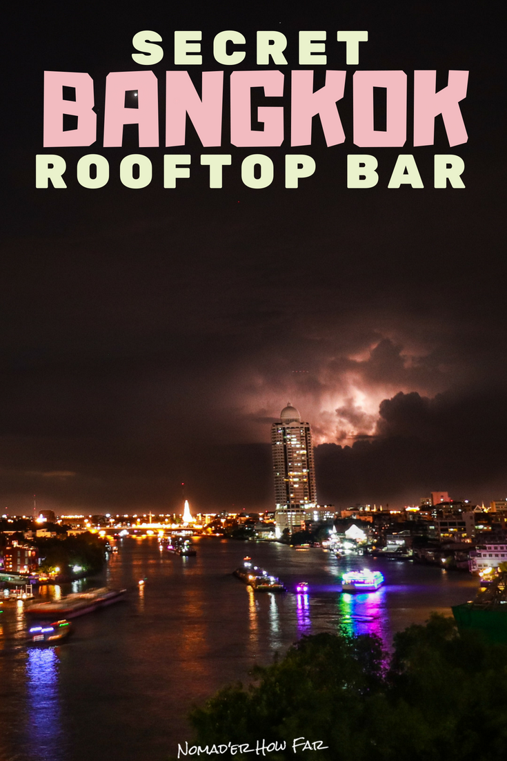 Want to spend your last night in Bangkok on the roof of a tall building overlooking the city in all of its glory?!