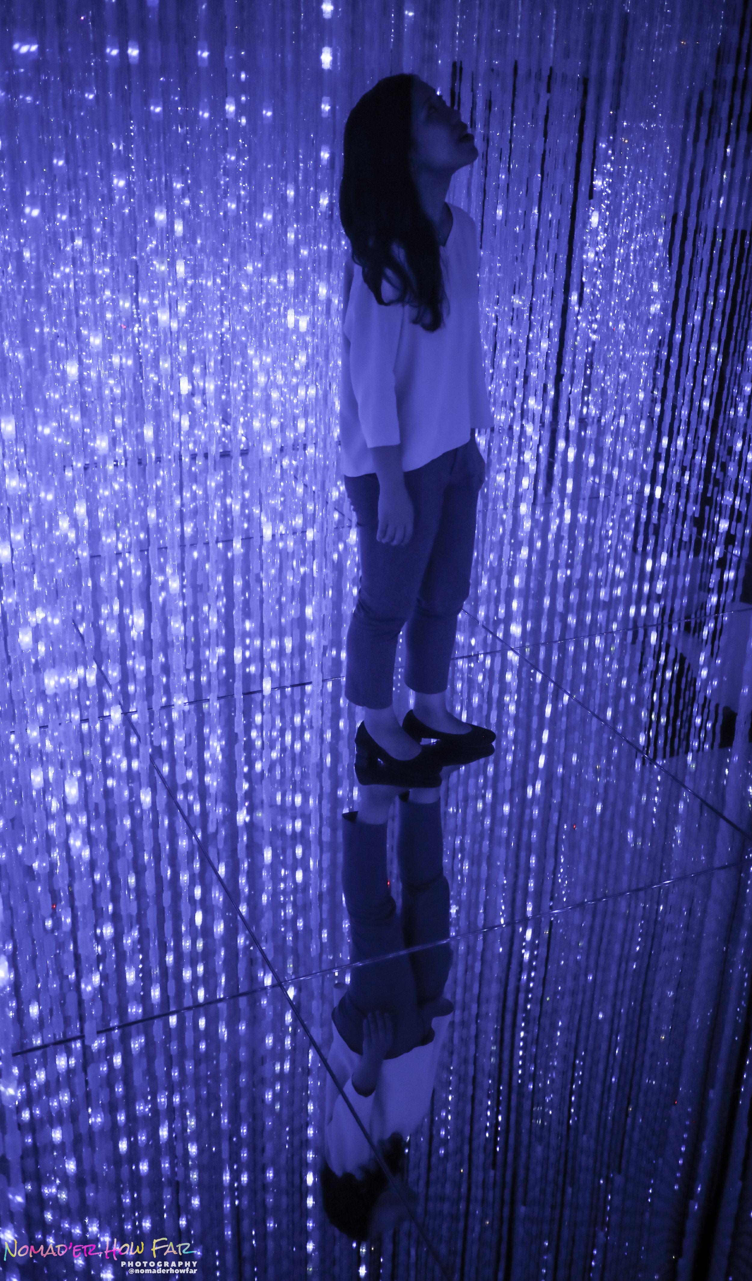 reflection light human