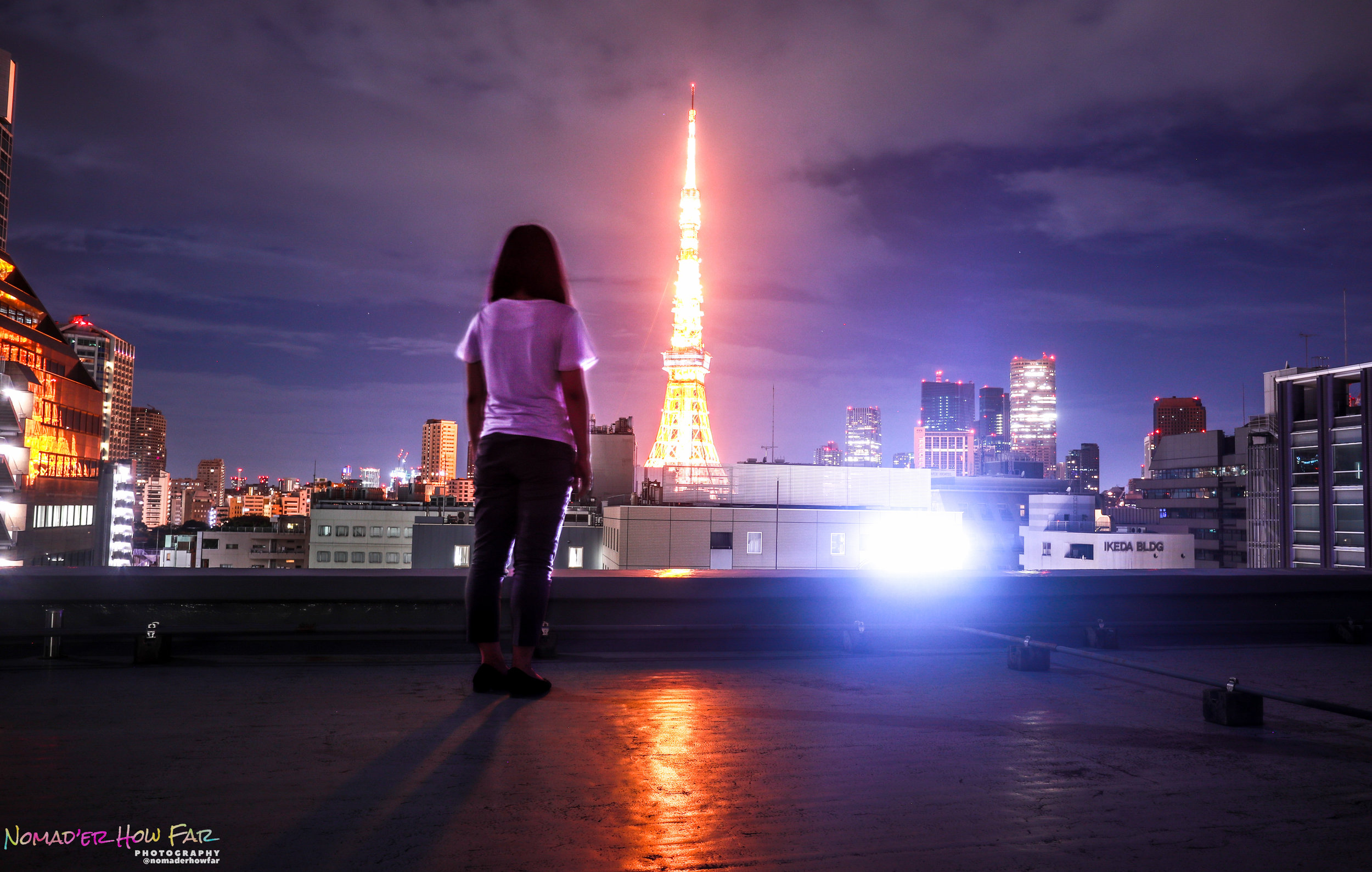 best view of tokyo tower