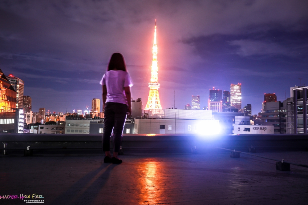 Best Place To View Tokyo Tower -