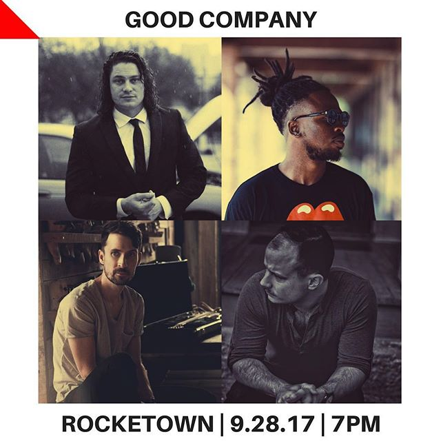 •GOOD COMPANY• Nashville, TN/ September 28 Artists include @nobigdyl @ryancornmusic @benjaminrupe and myself! So excited for this! If you live nearby come out and let's spend the night amidst some GOOD COMPANY!