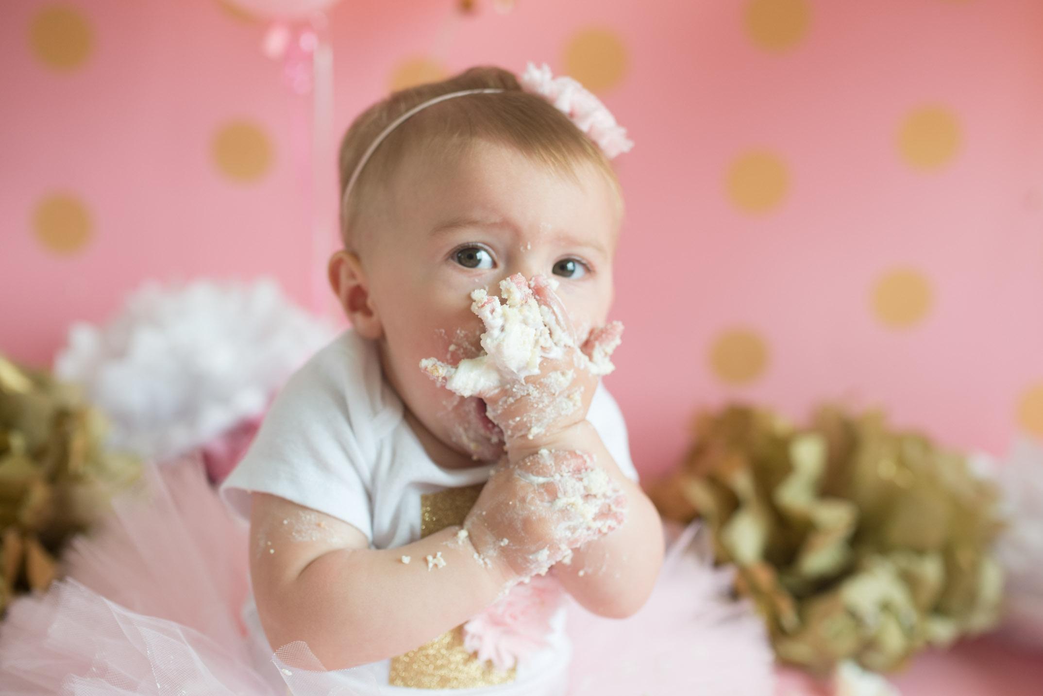 Columbus Ohio photographer, Columbus Ohio baby photographer, cake smash photography
