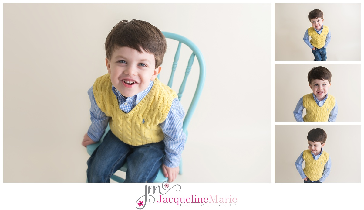 toddler photography | toddler boy studio portrait | children and family photographer Pickerington Ohio | Columbus Ohio baby photographer | family photography Columbus Ohio | Jacqueline Marie Photography LLC
