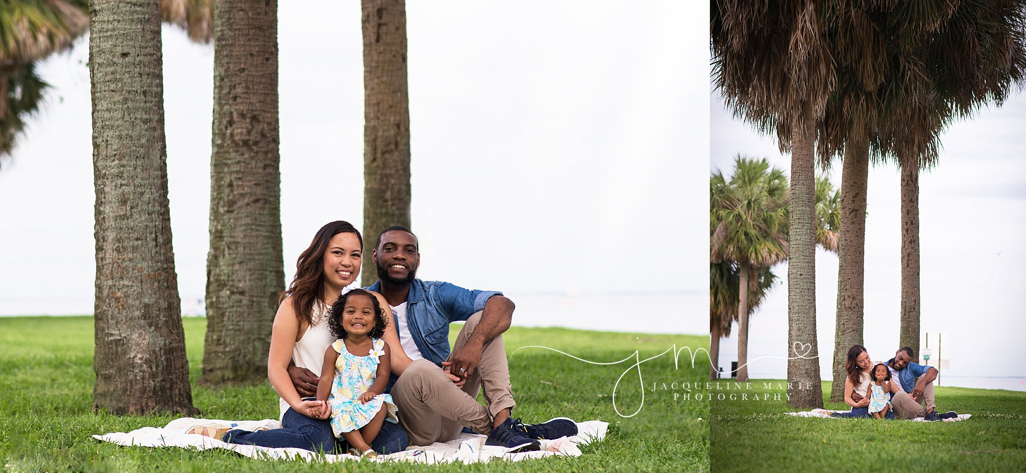 Columbus photographer, family photographer Columbus Ohio, Vinoy St. Petersburg, outdoor family photography, palm tree images