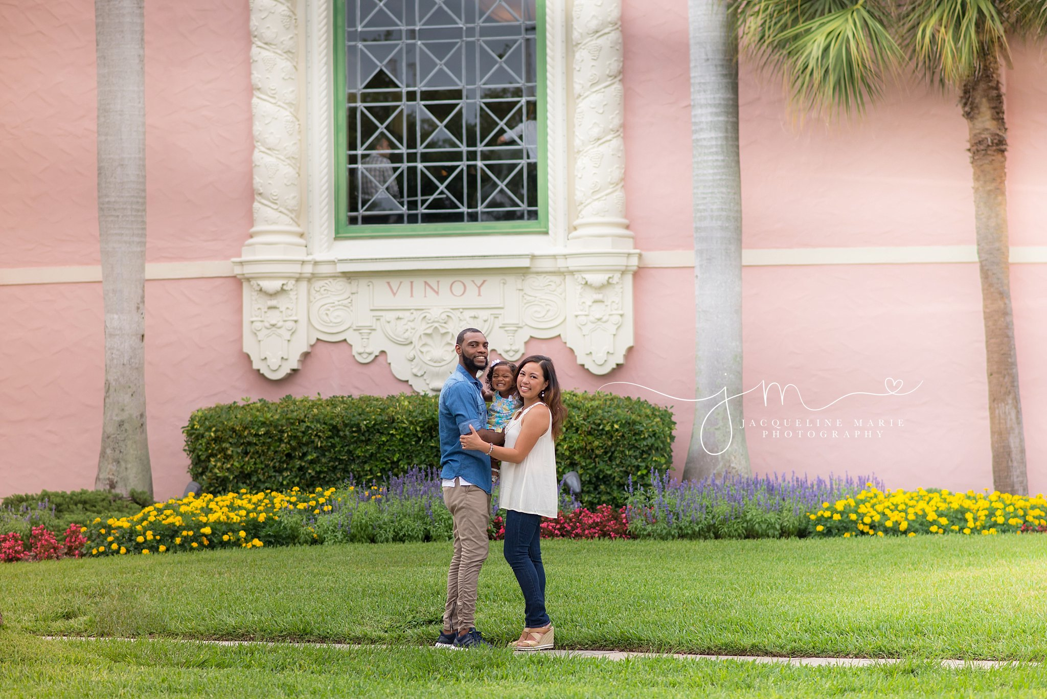 Vinoy Park St. Petersburg, family photography, family of three pose