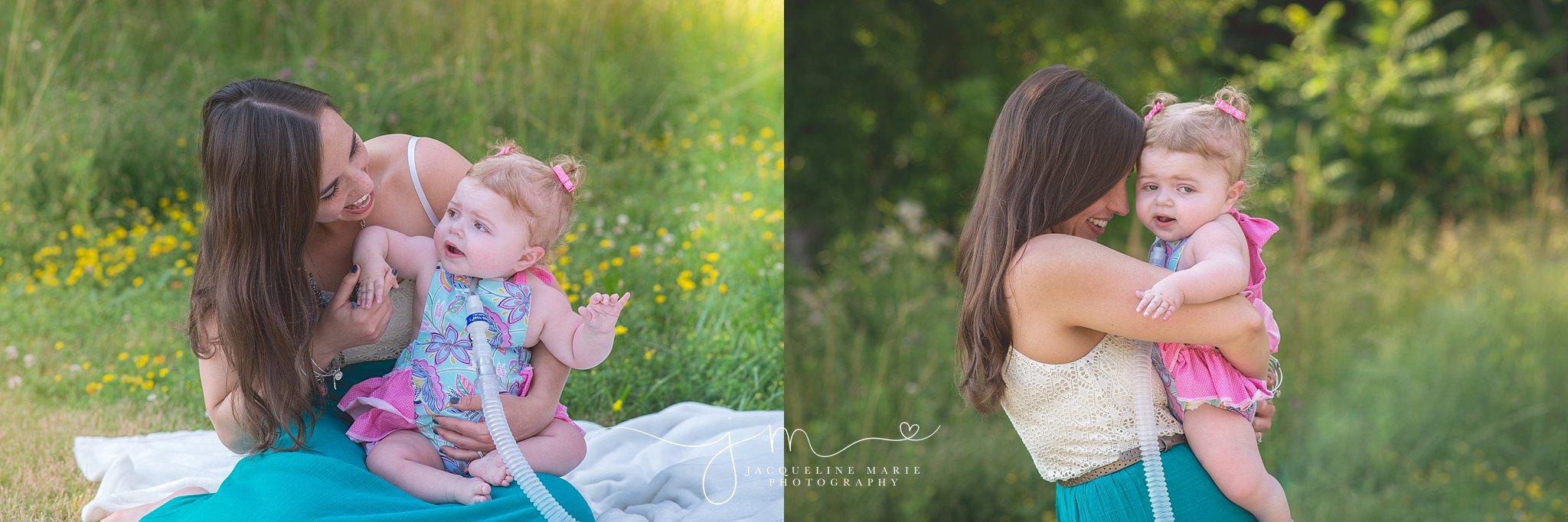 Stow Ohio family photographer, Columbus photographer, baby photography Columbus, mother and daughter portraits