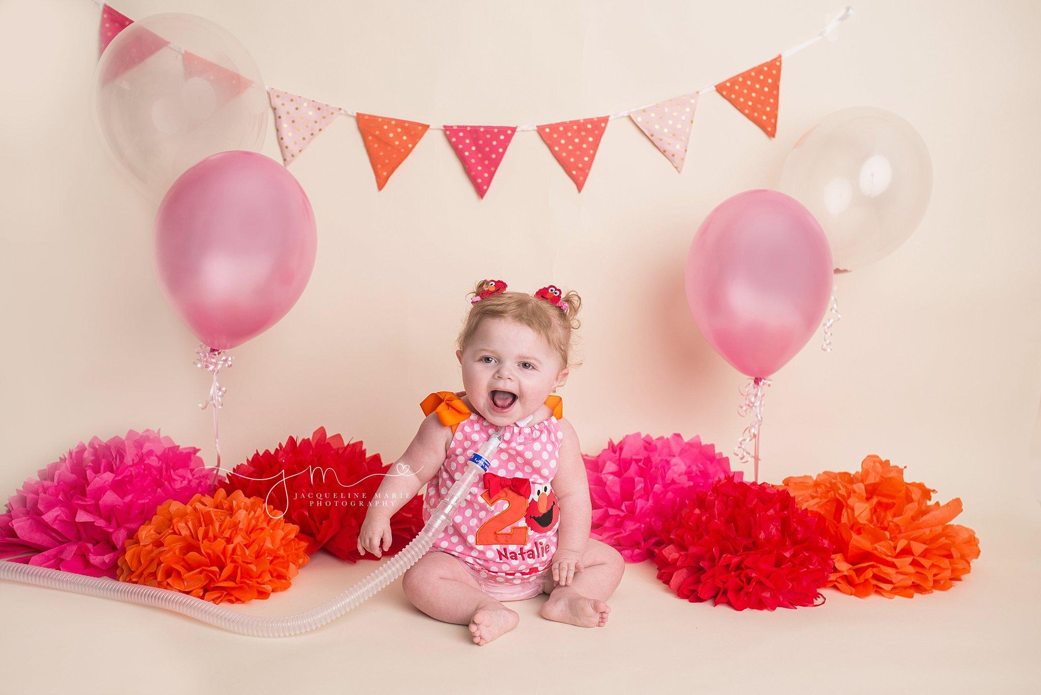 baby photography Columbus Ohio, birthday session, Elmo birthday portraits, Elmo birthday, second birthday pictures, Columbus Ohio child photographer
