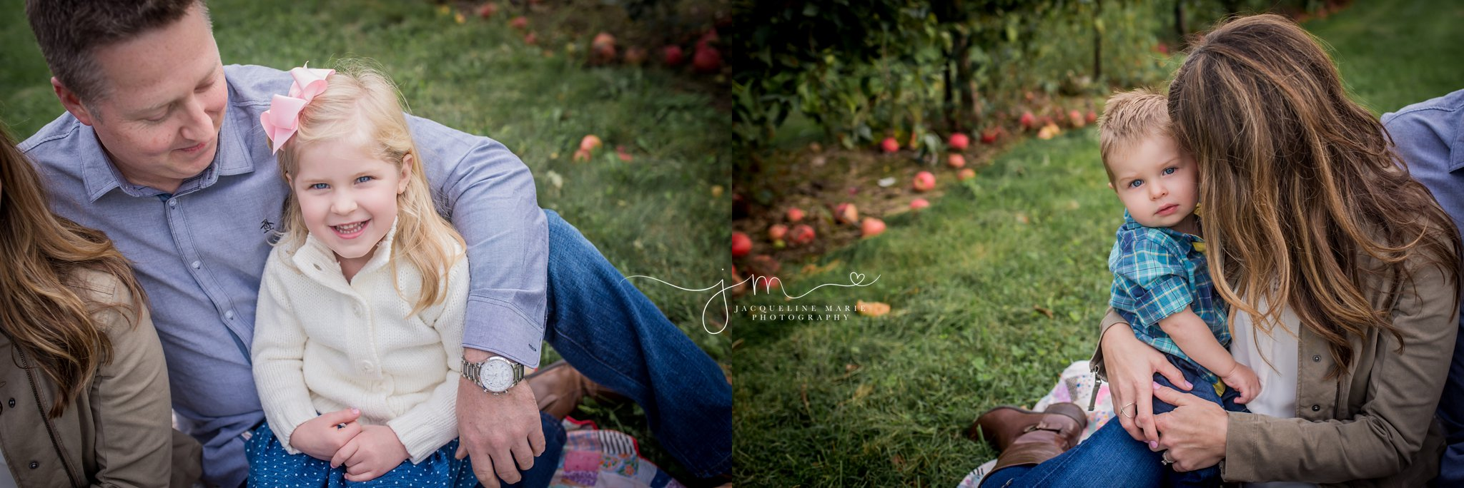 Columbus Ohio family photographer, Columbus family photography, apple orchard session, fall family portraits Columbus, Columbus Ohio photographer, parent and child pose