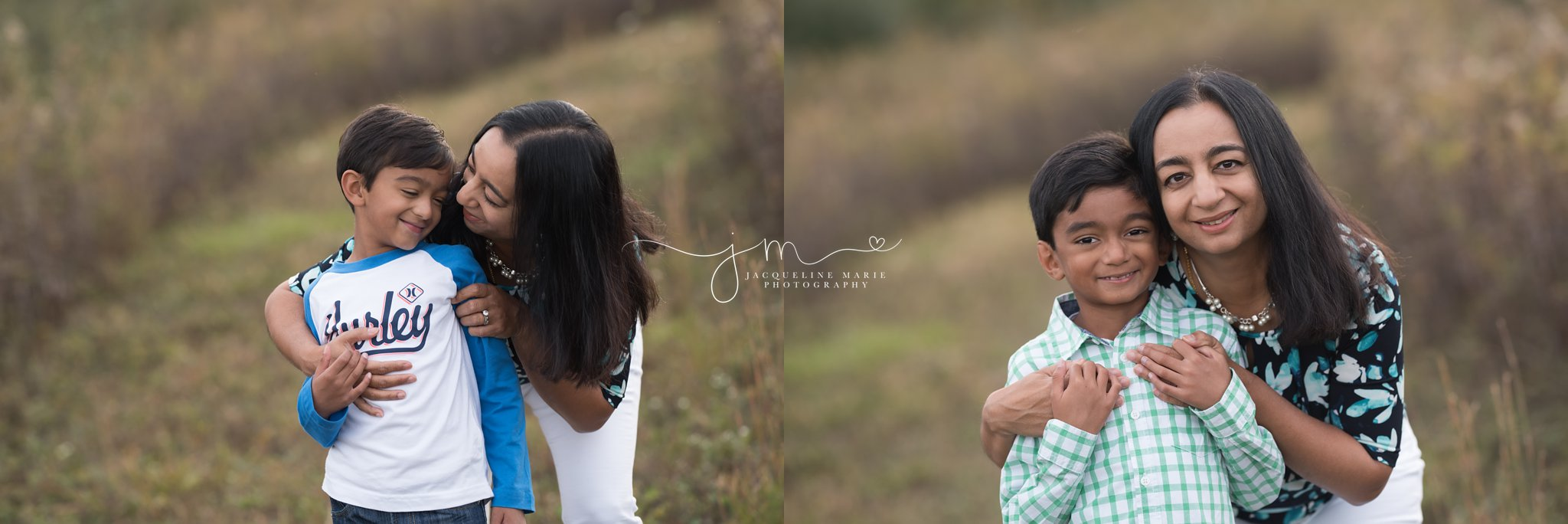 columbus ohio family photographer features images of mother and her children sharing a hug