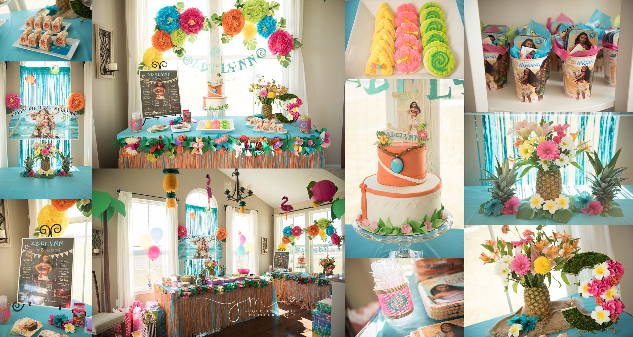 Moana Birthday Party | Columbus Ohio Children Photographer