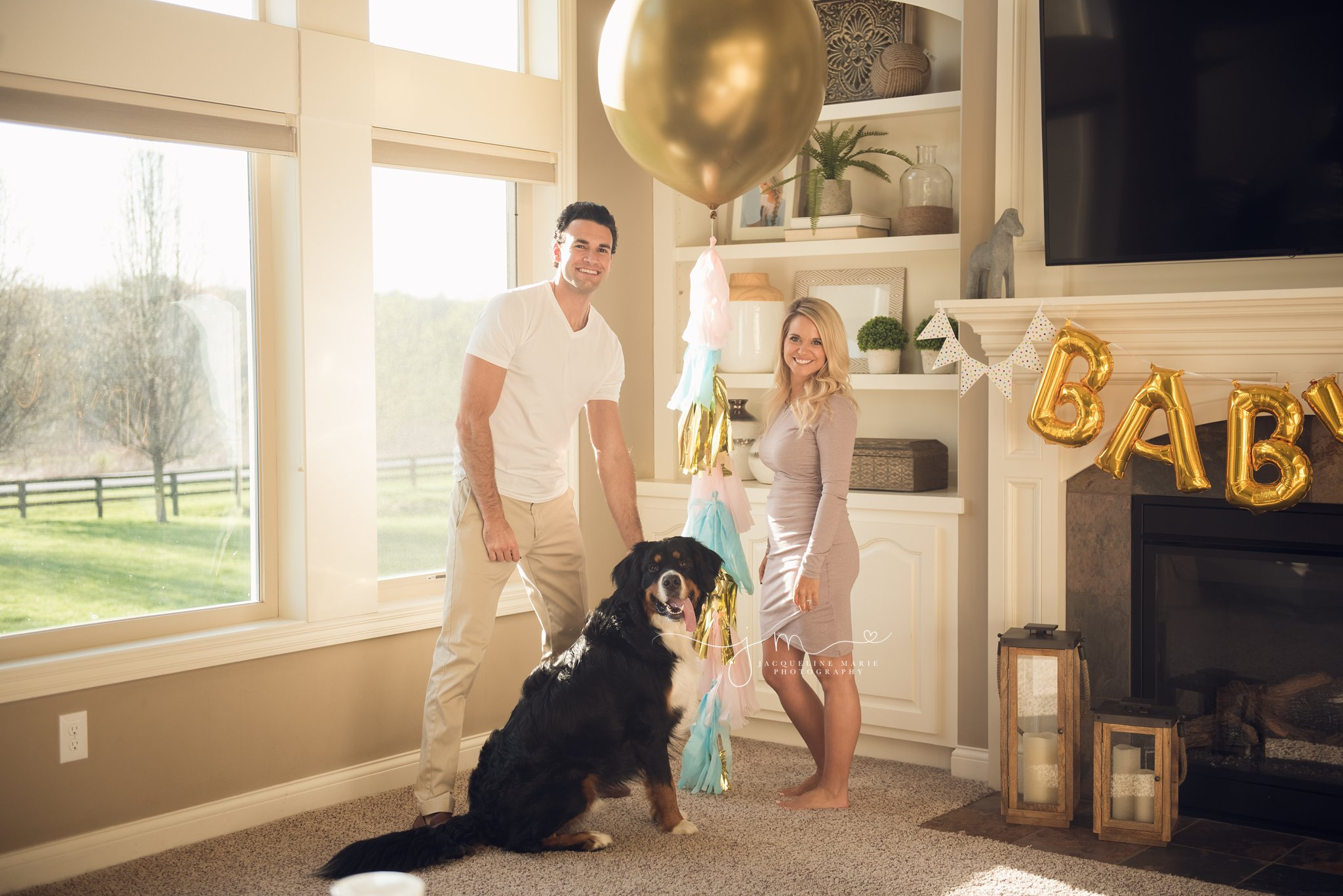 gender reveal party | gender reveal photography | columbus ohio gender reveal photographer